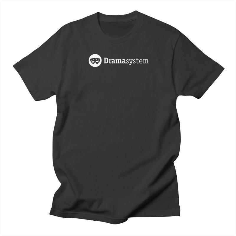 DramaSystem Logo Men's Regular T-Shirt by pelgrane's Artist Shop