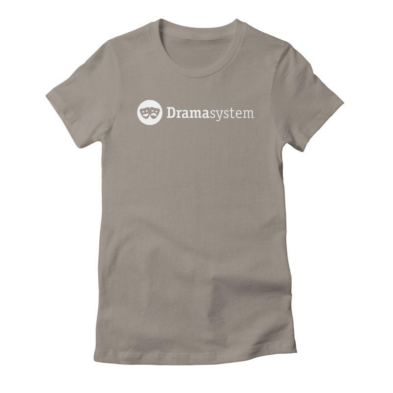 DramaSystem Logo Women's Fitted T-Shirt by pelgrane's Artist Shop