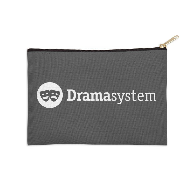 DramaSystem Logo Accessories Zip Pouch by Pelgrane's Artist Shop