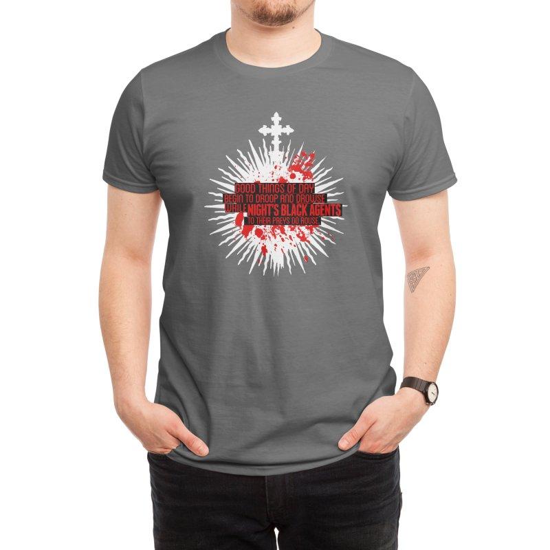 Night's Black Agents Shakespeare Design Men's T-Shirt by Pelgrane's Artist Shop