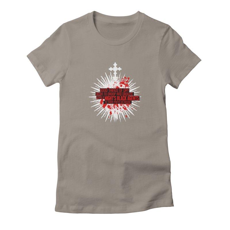 Night's Black Agents Shakespeare Design Women's T-Shirt by Pelgrane's Artist Shop