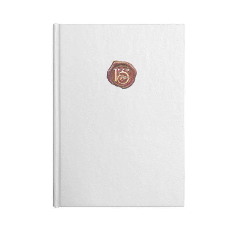 13th Age Seal Accessories Blank Journal Notebook by pelgrane's Artist Shop