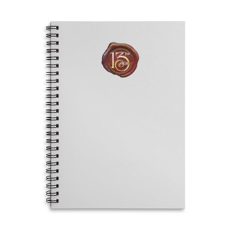13th Age Seal Accessories Notebook by Pelgrane's Artist Shop