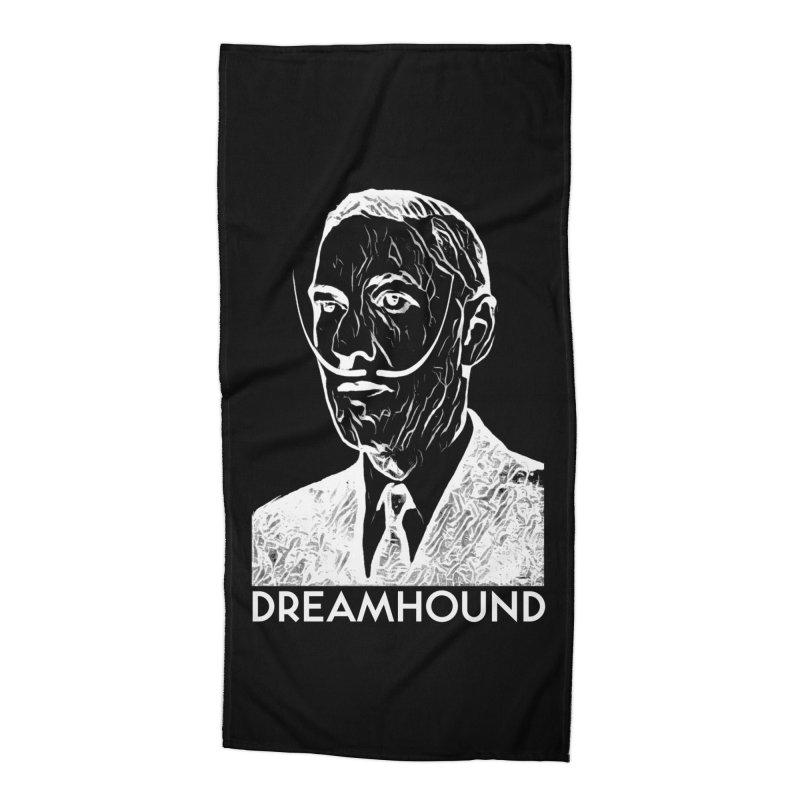 Dreamhound Accessories Beach Towel by Pelgrane's Artist Shop