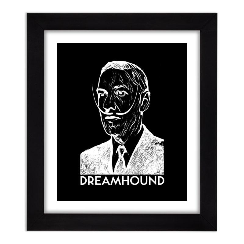 Dreamhound Home Framed Fine Art Print by Pelgrane's Artist Shop