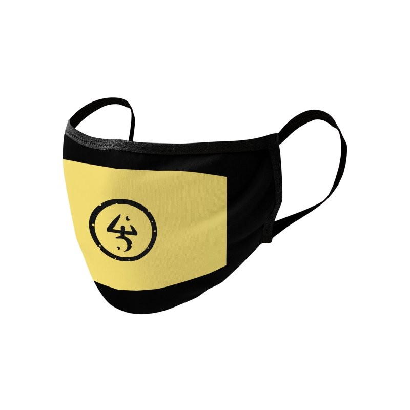 Mask of the Yellow Sign Accessories Face Mask by Pelgrane's Artist Shop