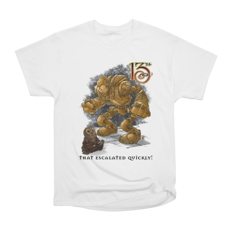 That Escalated Quickly 1 Women's T-Shirt by Pelgrane's Artist Shop