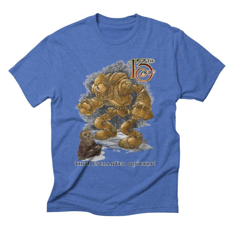 That Escalated Quickly 1 Men's T-Shirt by Pelgrane's Artist Shop