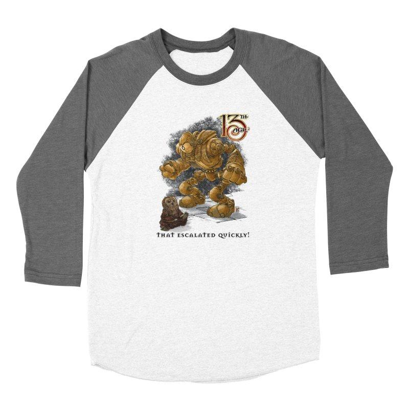 That Escalated Quickly 1 Women's Longsleeve T-Shirt by Pelgrane's Artist Shop