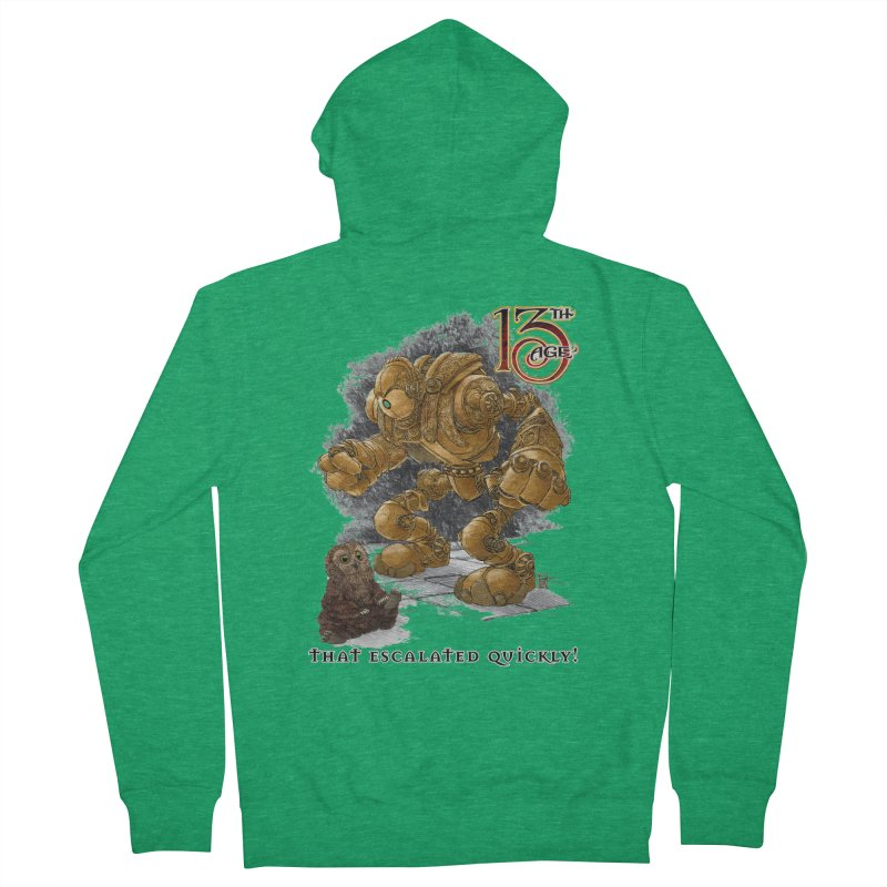 That Escalated Quickly 1 Women's Zip-Up Hoody by Pelgrane's Artist Shop