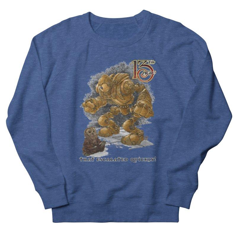 That Escalated Quickly 1 Men's Sweatshirt by Pelgrane's Artist Shop