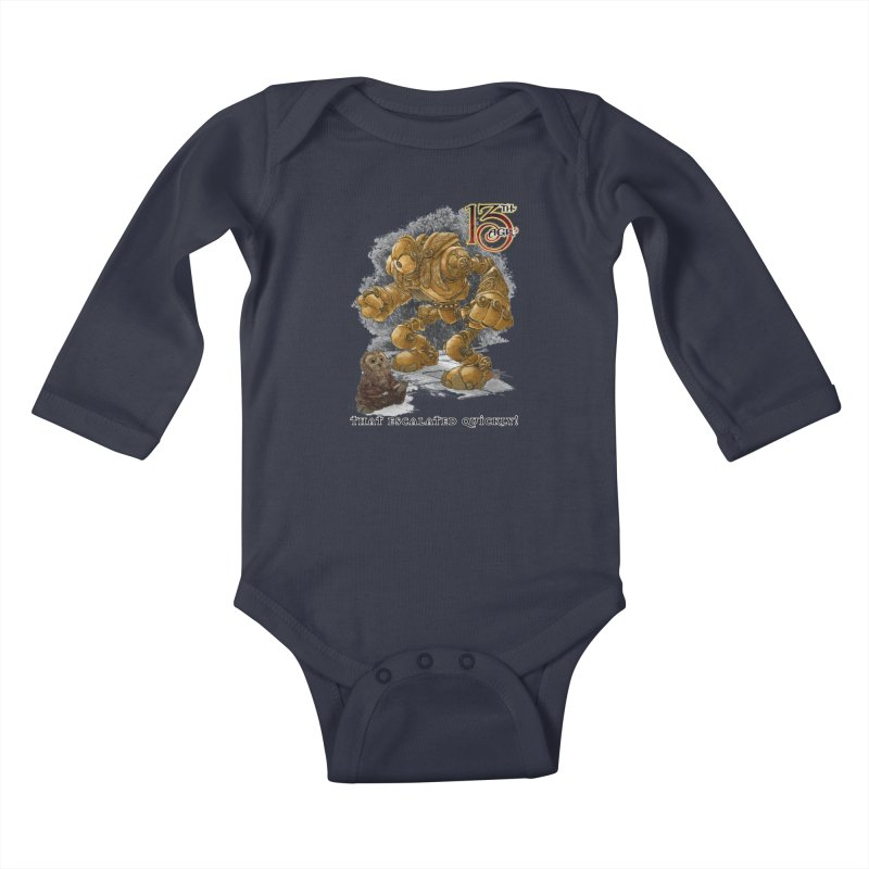 That Escalated Quickly 1 Kids Baby Longsleeve Bodysuit by Pelgrane's Artist Shop
