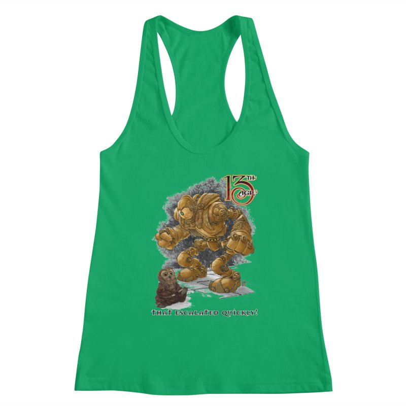 That Escalated Quickly 1 Women's Tank by Pelgrane's Artist Shop