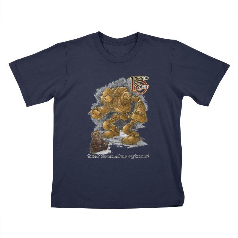 That Escalated Quickly 1 Kids T-Shirt by Pelgrane's Artist Shop