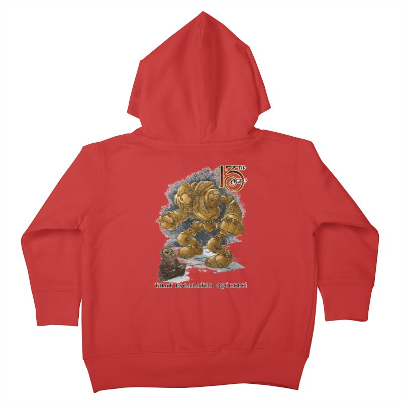 That Escalated Quickly 1 Kids Toddler Zip-Up Hoody by Pelgrane's Artist Shop