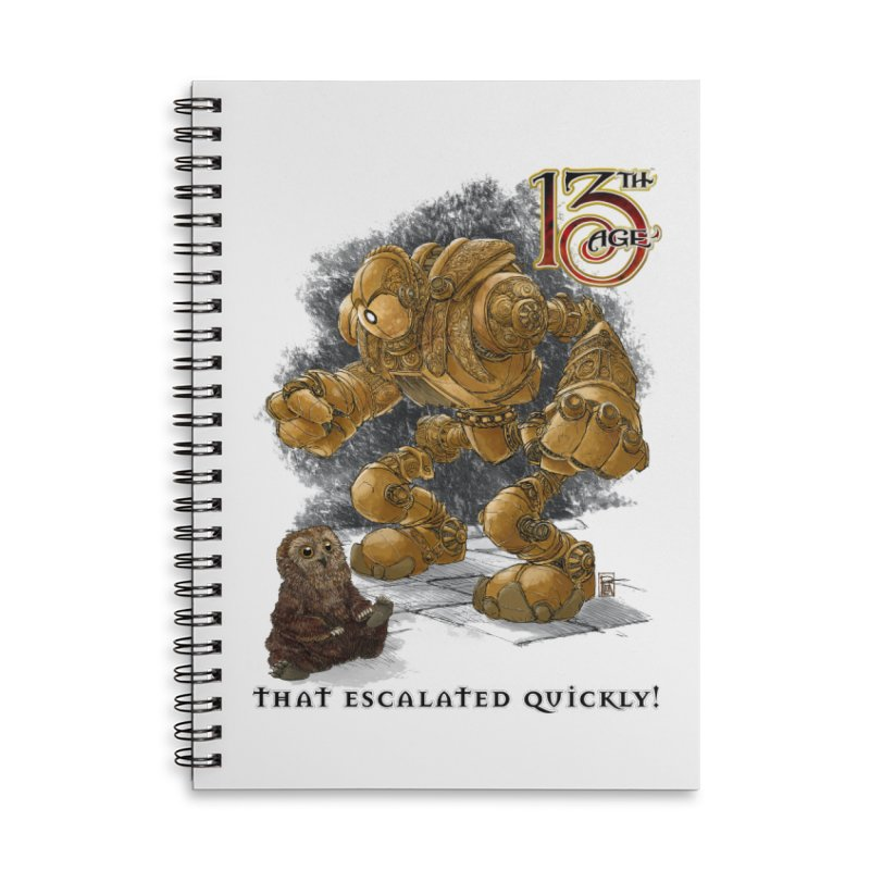 That Escalated Quickly 1 Accessories Notebook by Pelgrane's Artist Shop