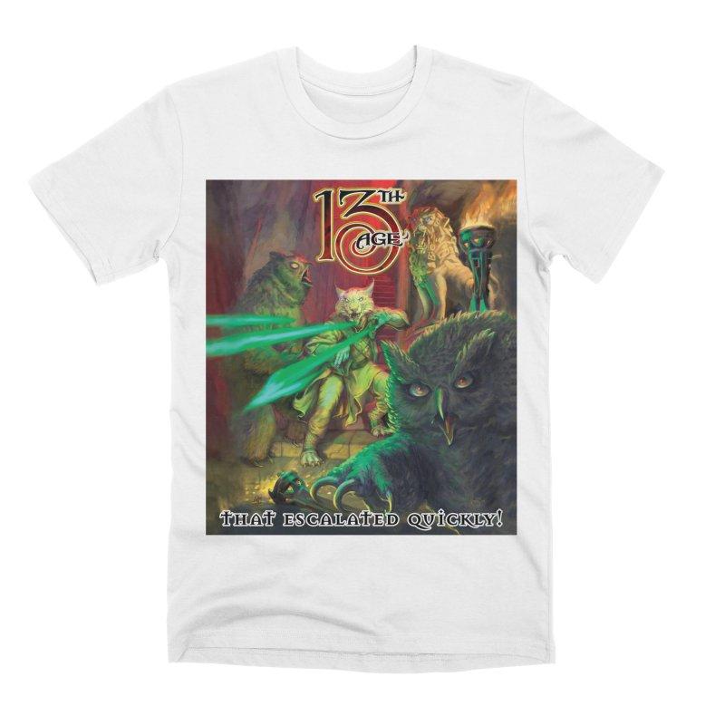 That Escalated Quickly 2 Men's T-Shirt by Pelgrane's Artist Shop