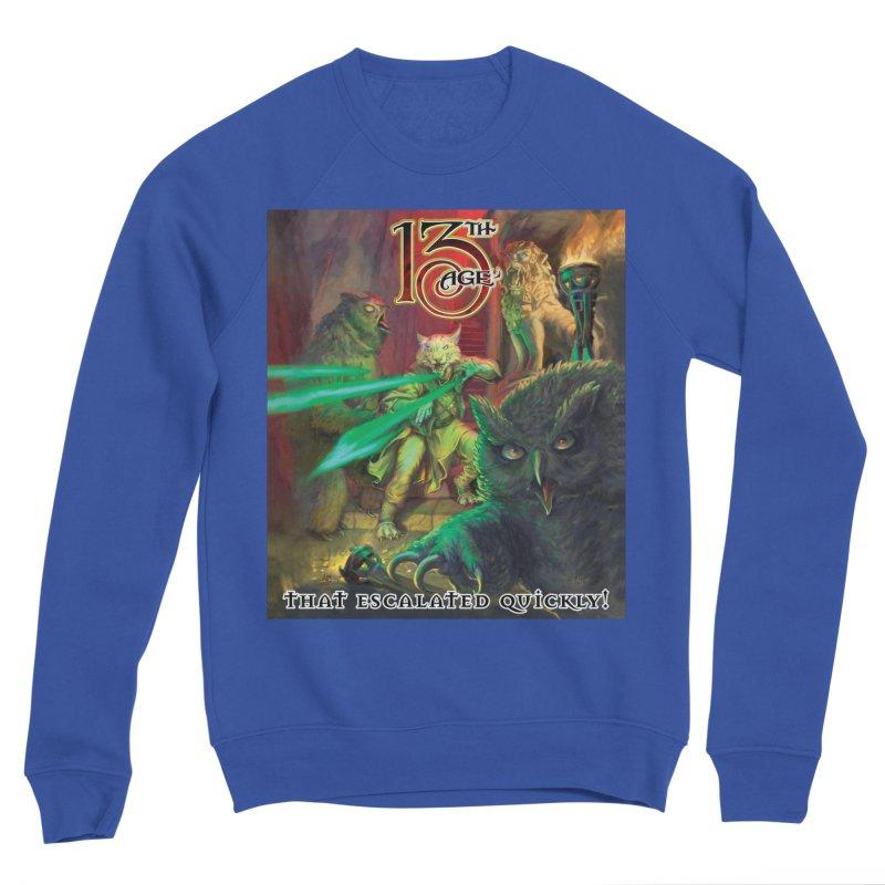 That Escalated Quickly 2 Men's Sweatshirt by Pelgrane's Artist Shop