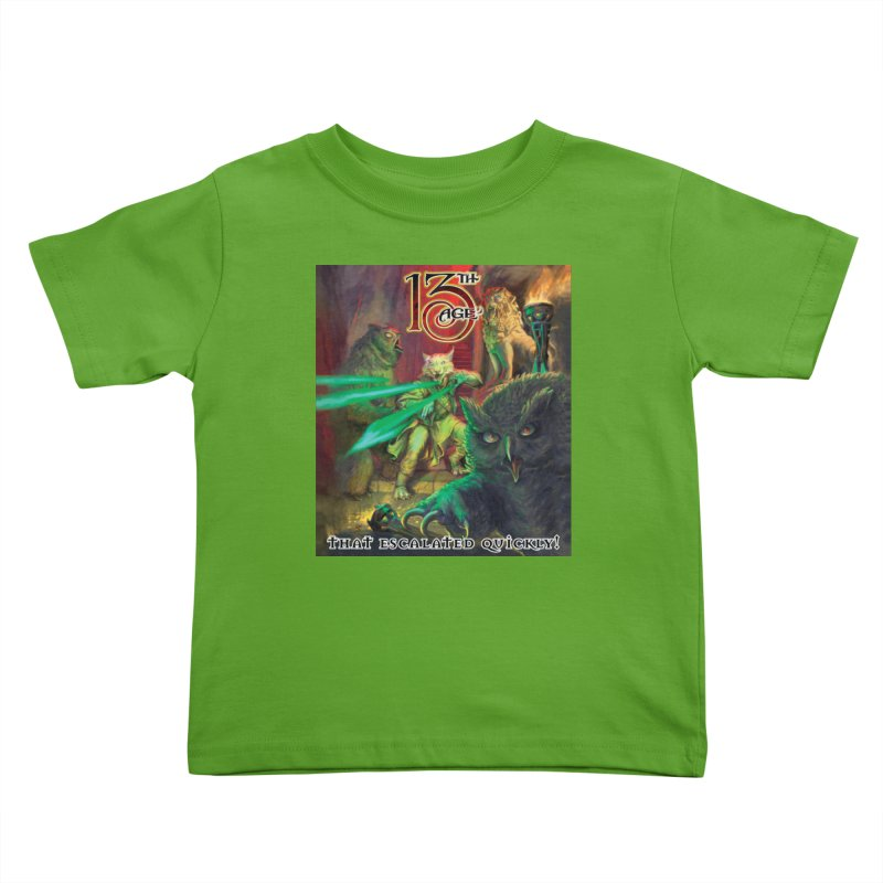 That Escalated Quickly 2 Kids Toddler T-Shirt by Pelgrane's Artist Shop