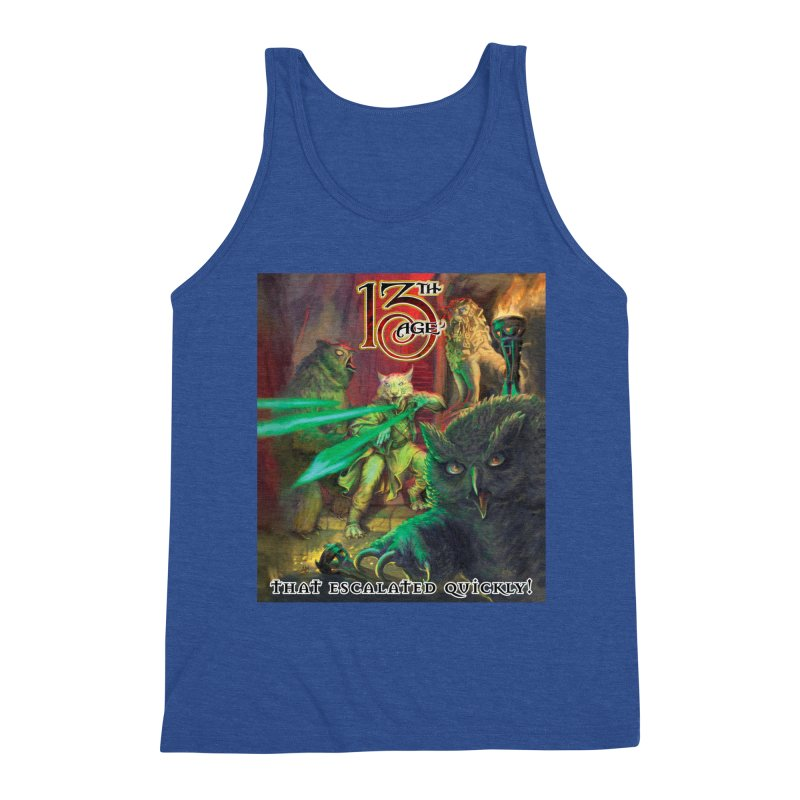 That Escalated Quickly 2 Men's Tank by Pelgrane's Artist Shop