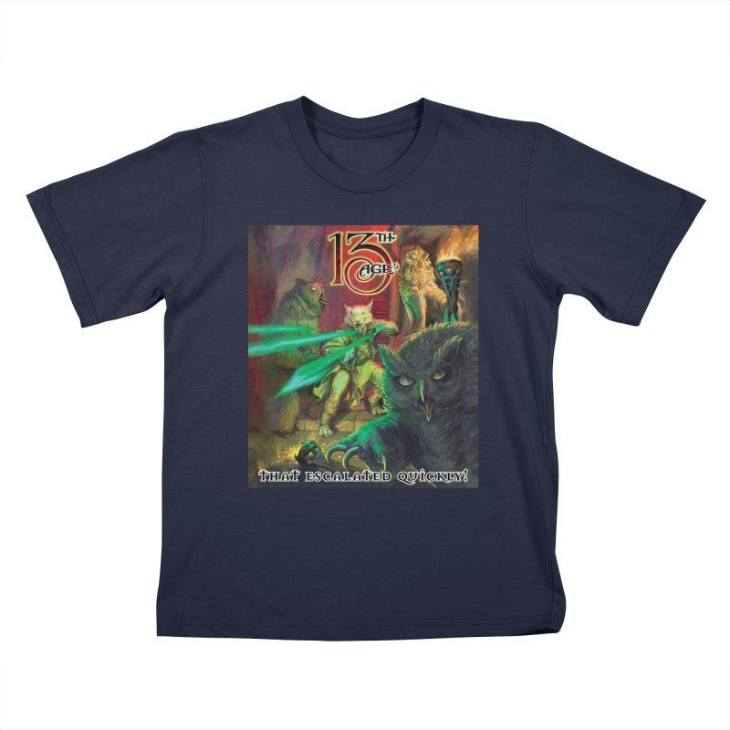 That Escalated Quickly 2 Kids T-Shirt by Pelgrane's Artist Shop