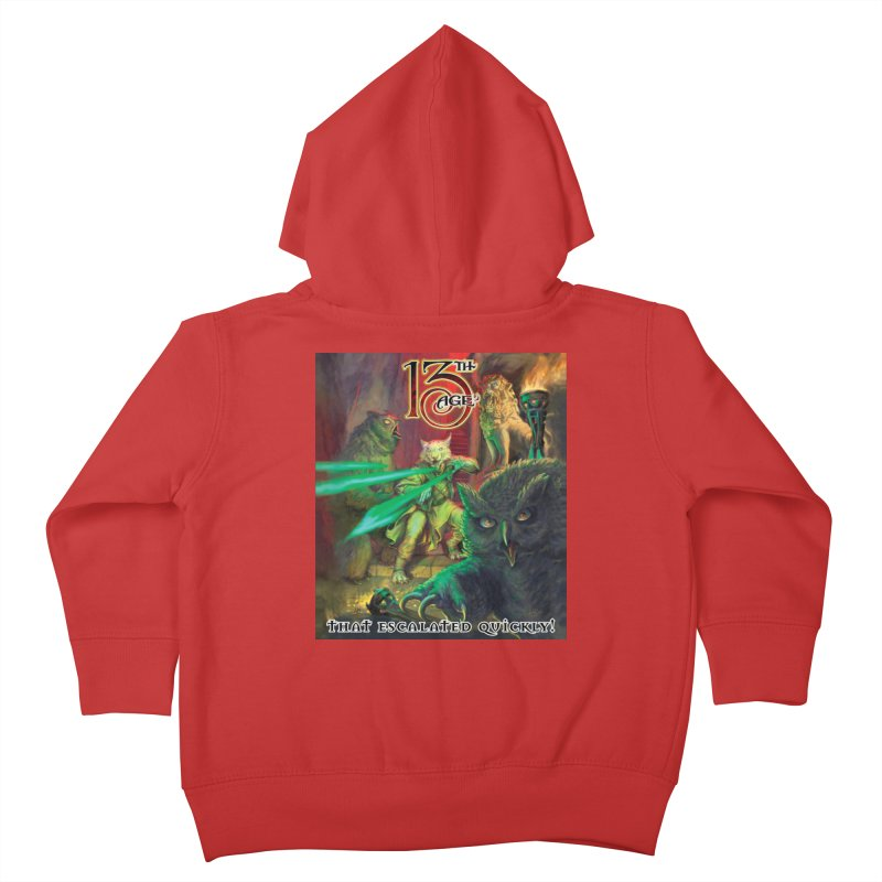 That Escalated Quickly 2 Kids Toddler Zip-Up Hoody by Pelgrane's Artist Shop