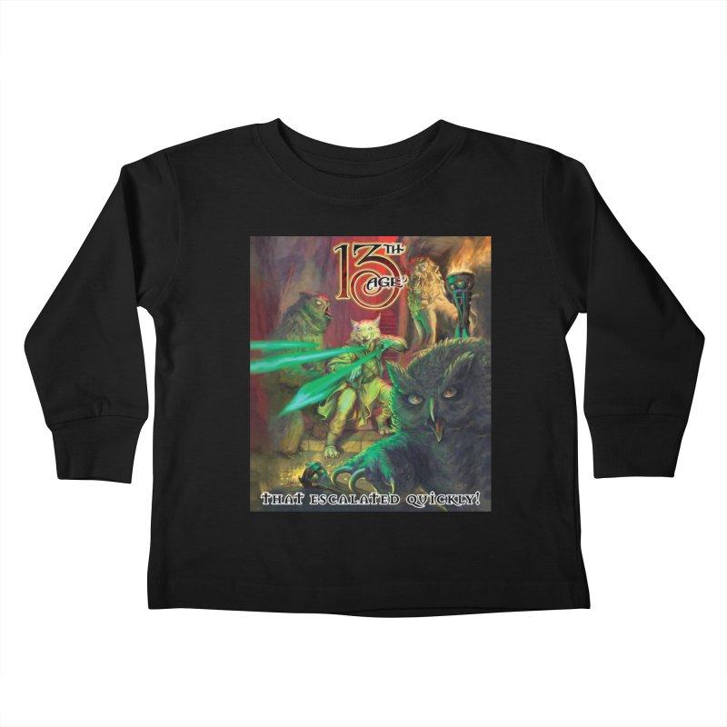 That Escalated Quickly 2 Kids Toddler Longsleeve T-Shirt by Pelgrane's Artist Shop