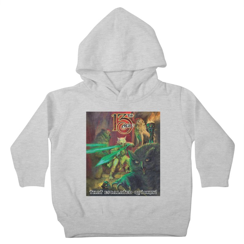 That Escalated Quickly 2 Kids Toddler Pullover Hoody by Pelgrane's Artist Shop