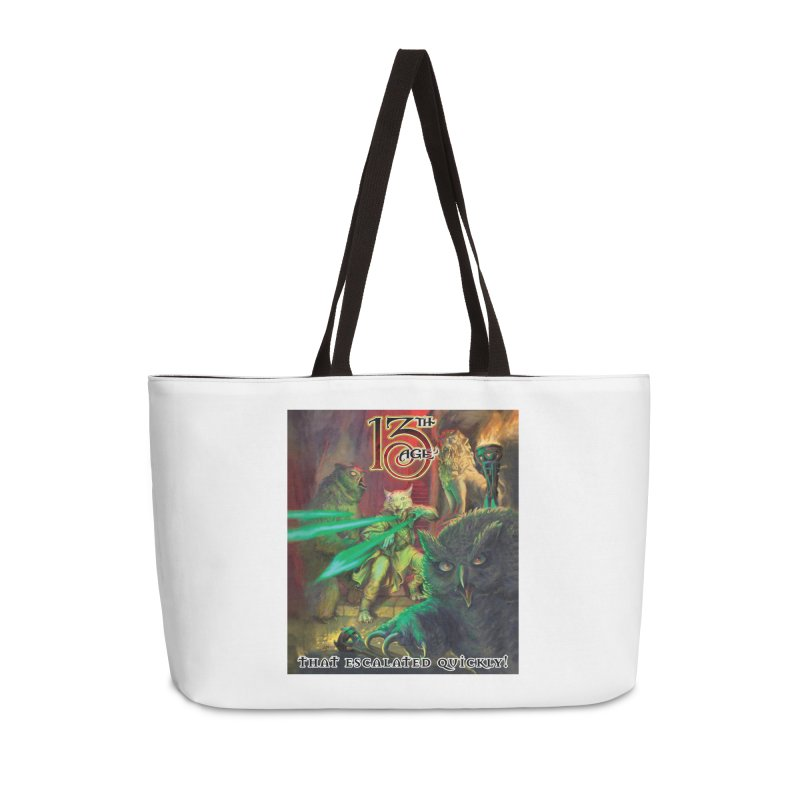 That Escalated Quickly 2 Accessories Bag by Pelgrane's Artist Shop