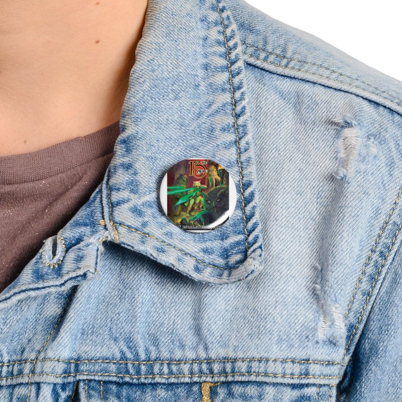 That Escalated Quickly 2 Accessories Button by Pelgrane's Artist Shop