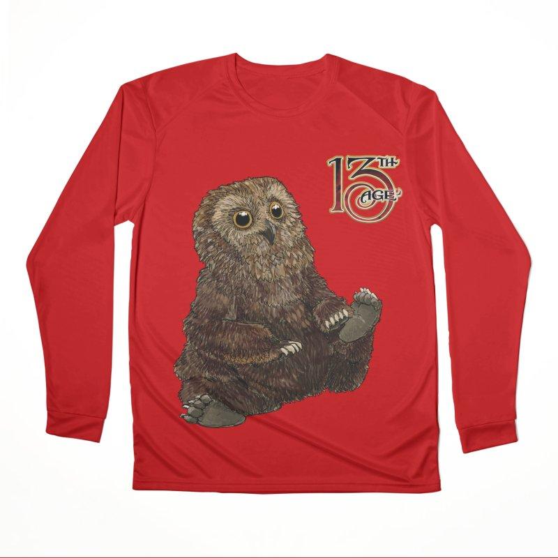 Grrowl Women's Longsleeve T-Shirt by Pelgrane's Artist Shop