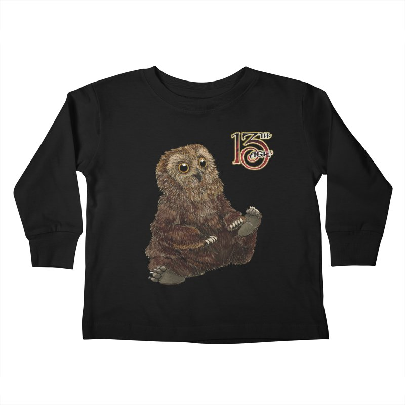 Grrowl Kids Toddler Longsleeve T-Shirt by Pelgrane's Artist Shop
