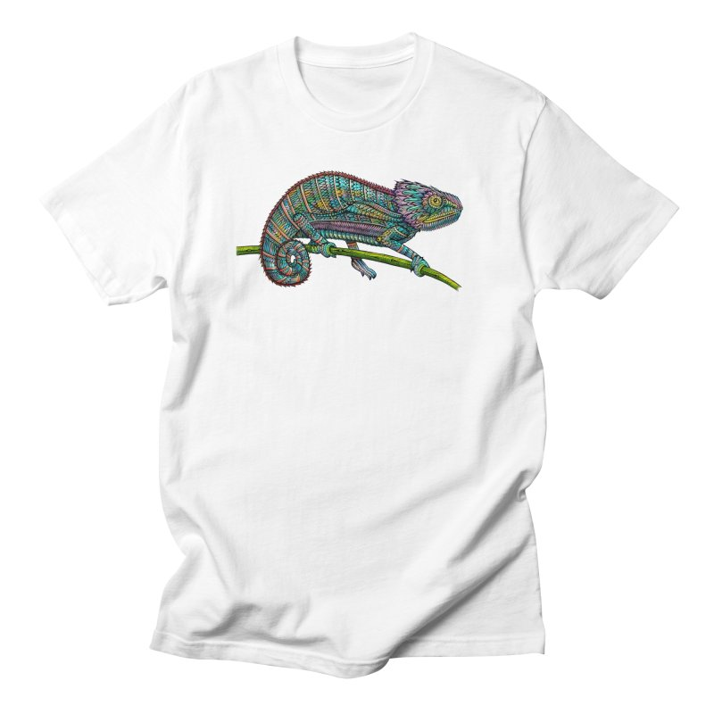 Chameleon Men's Regular T-Shirt by Pellvetica