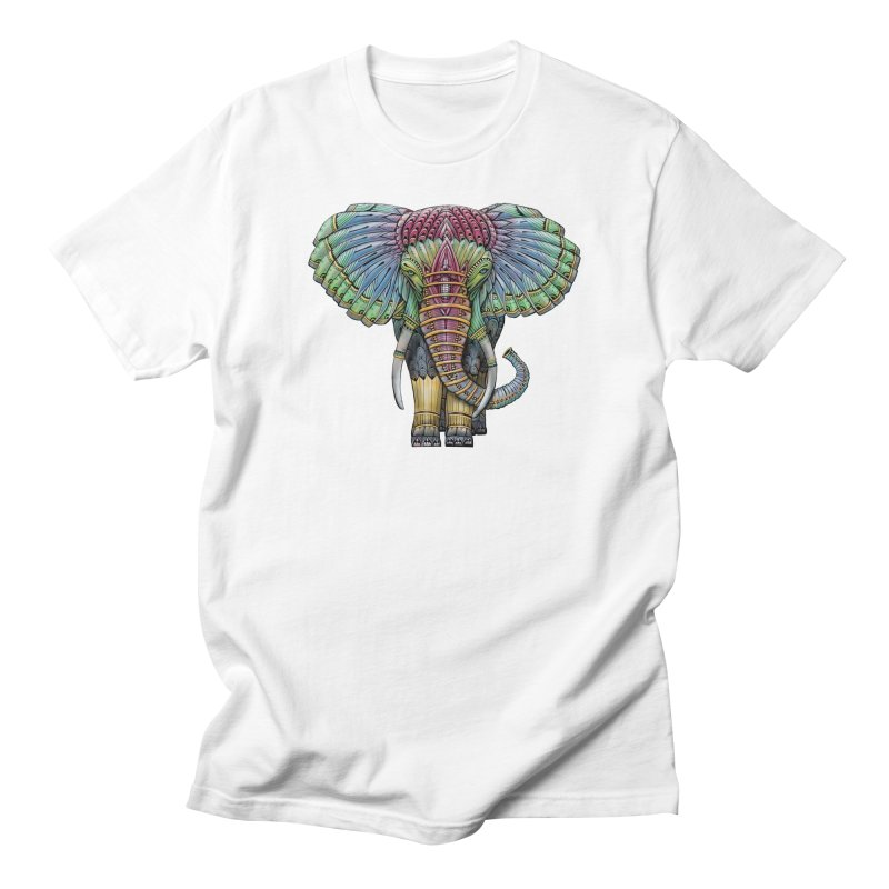 Elephant Men's Regular T-Shirt by Pellvetica