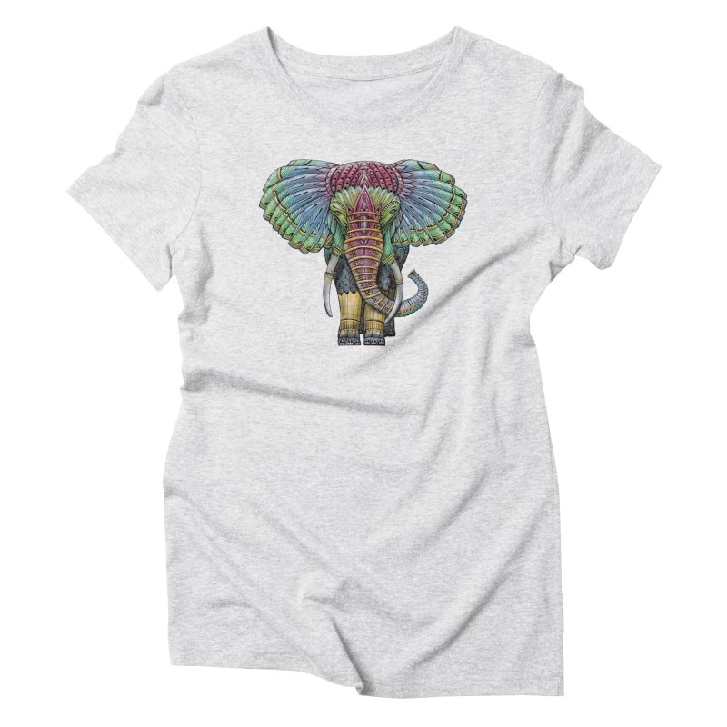 Elephant Women's T-Shirt by Pellvetica