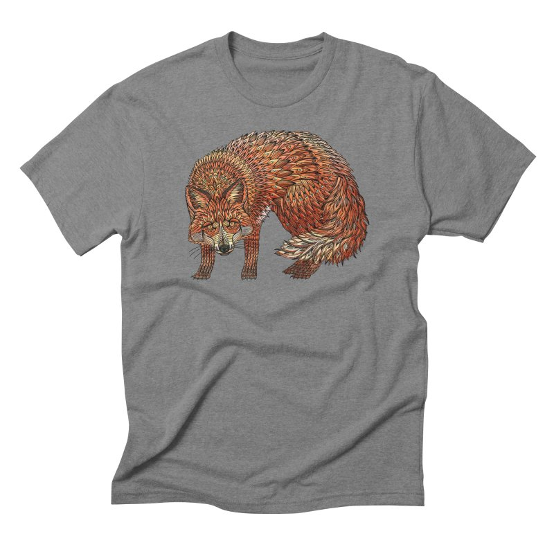 Red Fox Men's T-Shirt by Pellvetica