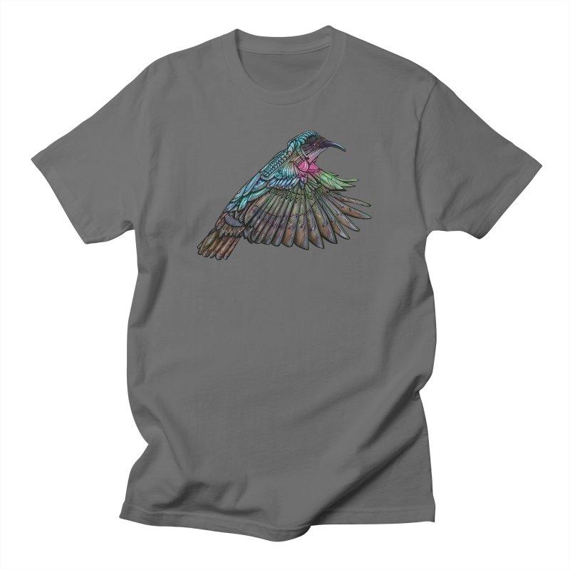 Hummingbird Men's Regular T-Shirt by Pellvetica