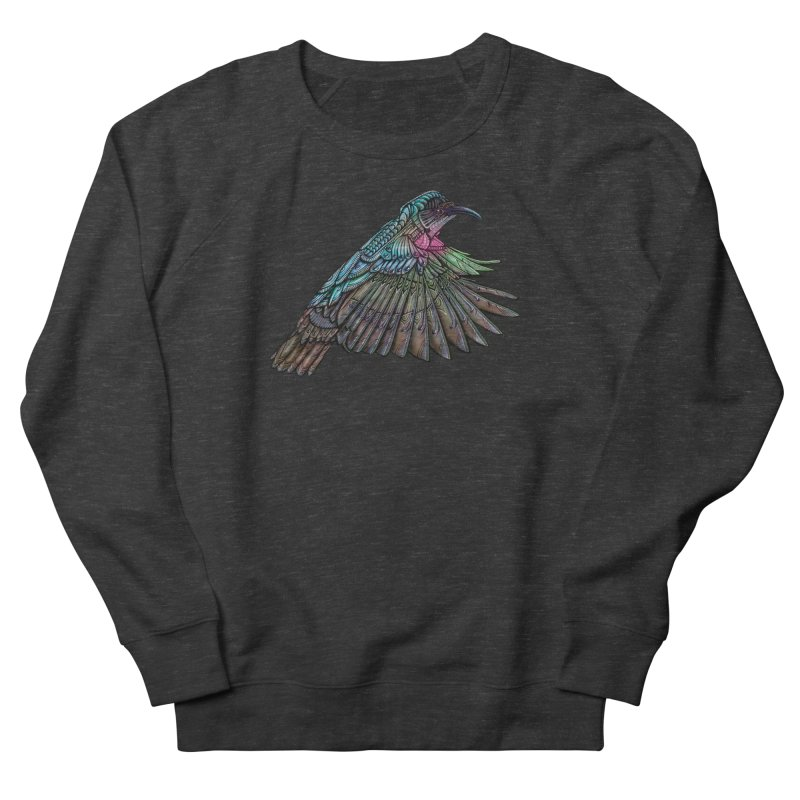 Hummingbird Men's French Terry Sweatshirt by Pellvetica