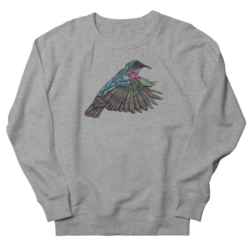 Hummingbird Men's French Terry Sweatshirt by Pellvetica