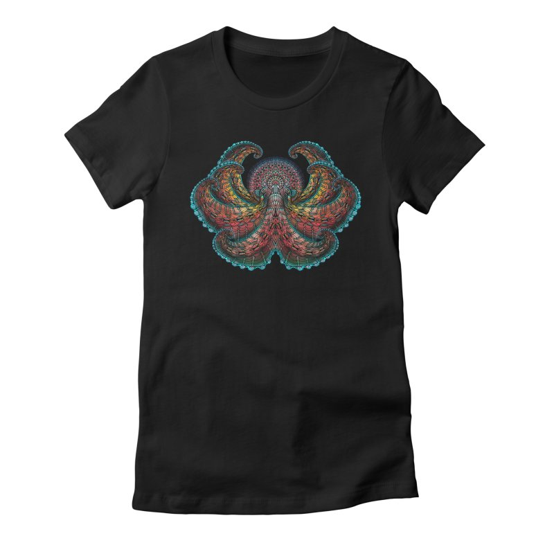 Pacific Giant Octopus Women's T-Shirt by Pellvetica