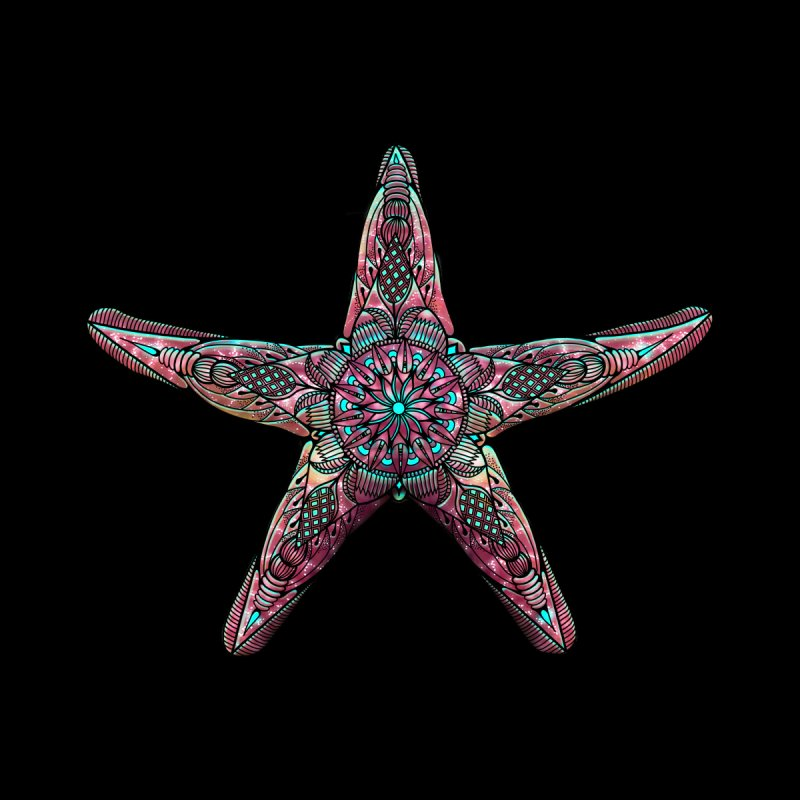 Starfish Men's T-Shirt by Pellvetica
