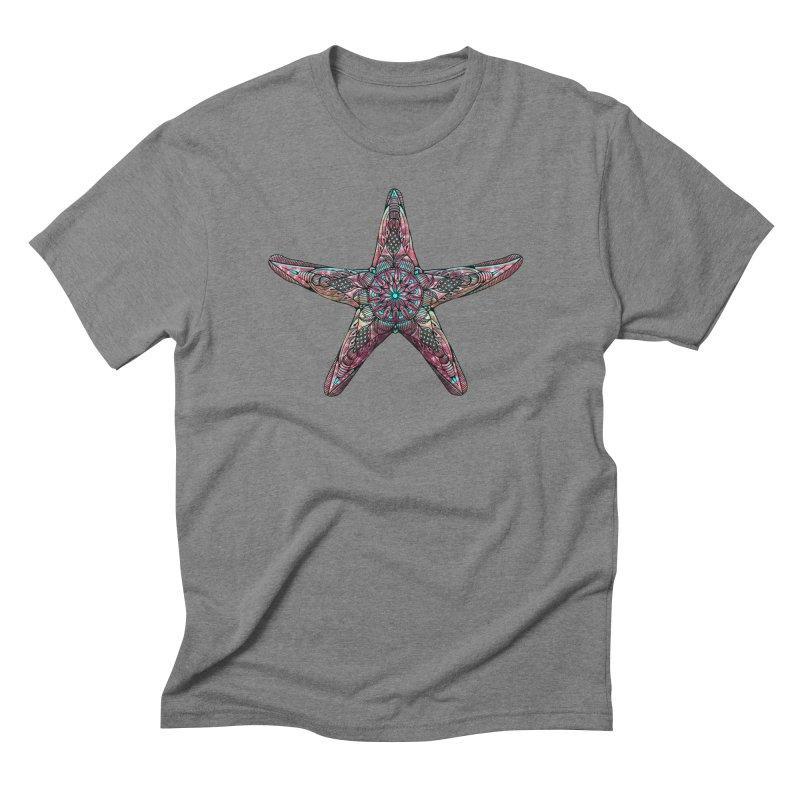 Starfish Men's T-Shirt by Pellvetica