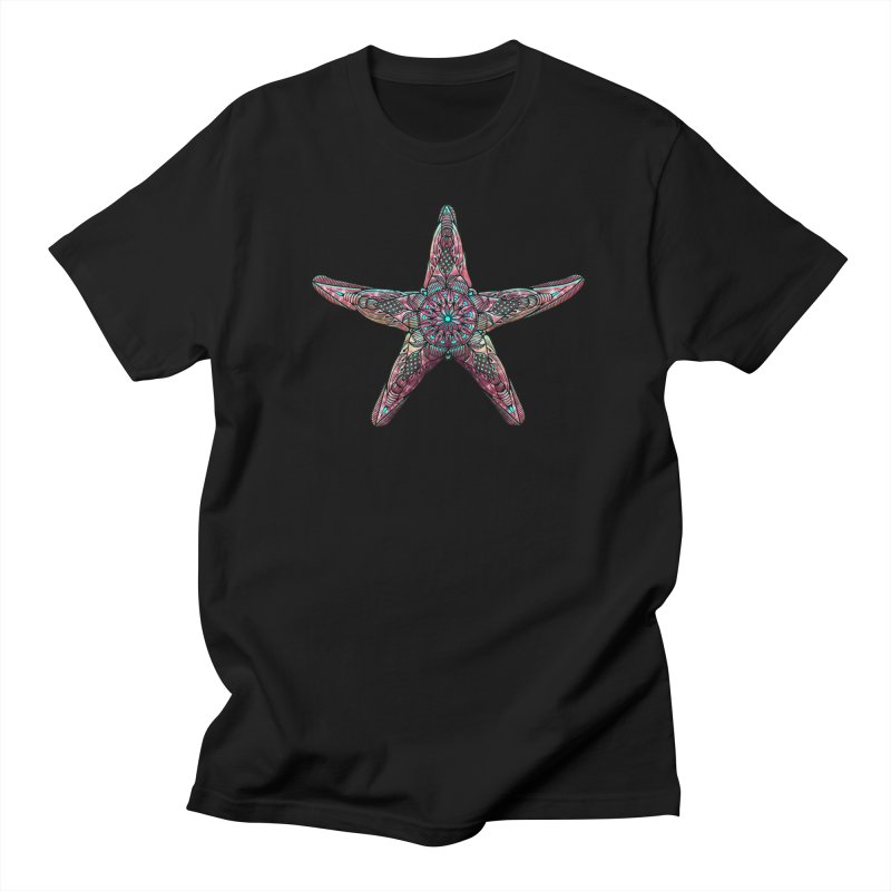 Starfish Men's Regular T-Shirt by Pellvetica