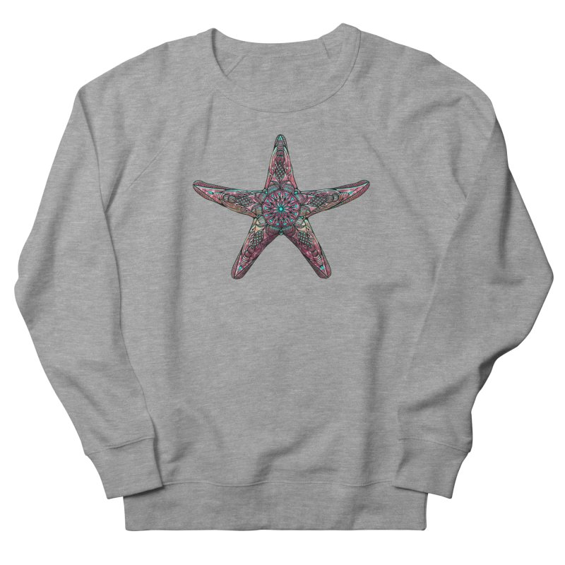 Starfish Women's French Terry Sweatshirt by Pellvetica