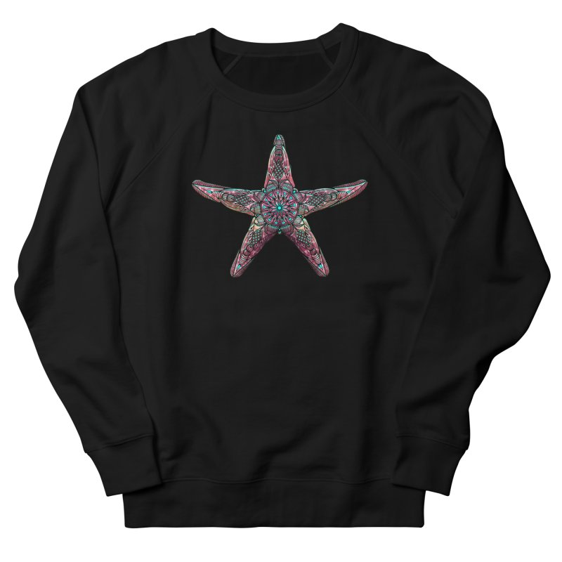 Starfish Men's French Terry Sweatshirt by Pellvetica