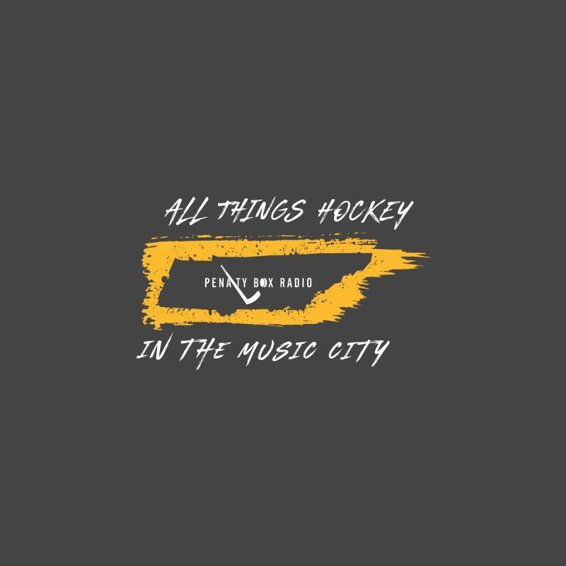All Things Hockey In The Music City Kids T-Shirt by Penalty Box Radio's Artist Shop