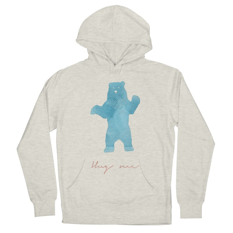 Hug Me Women's French Terry Pullover Hoody by Pen & Paper Design's Shop