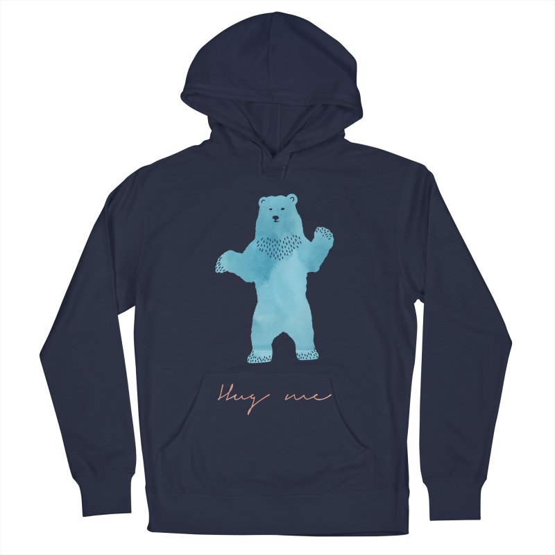 Hug Me Men's French Terry Pullover Hoody by Pen & Paper Design's Shop