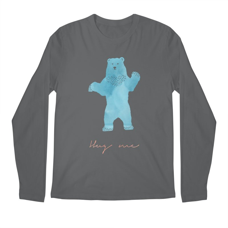 Hug Me Men's Regular Longsleeve T-Shirt by Pen & Paper Design's Shop
