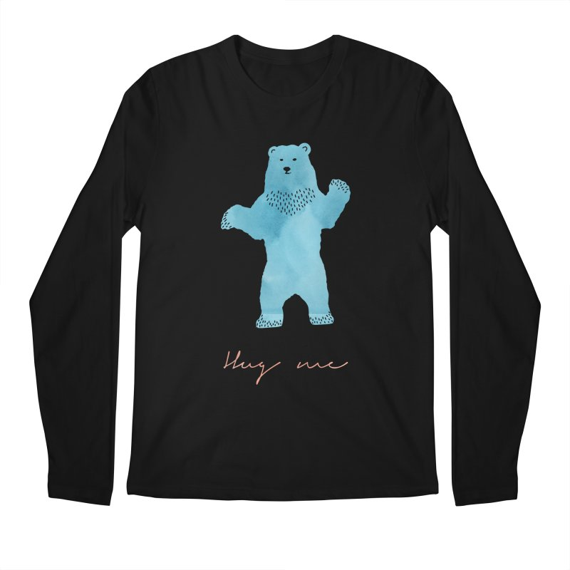 Hug Me Men's Regular Longsleeve T-Shirt by Pen & Paper Design's Shop